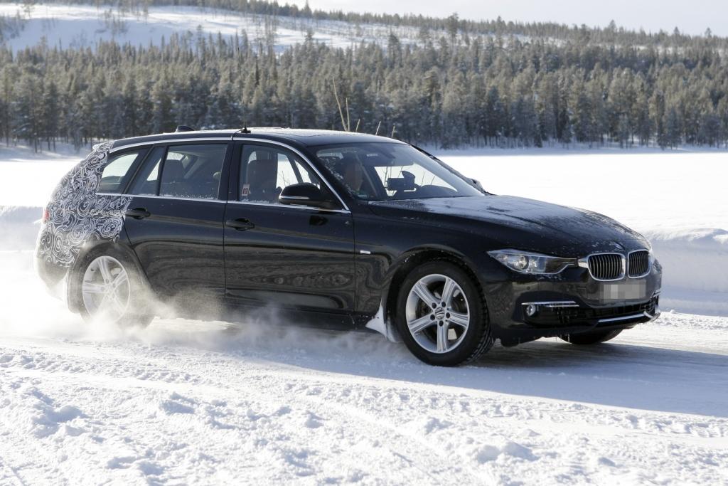 Erwischt: Erlkönig BMW 3er Touring - Nackte Tatsachen