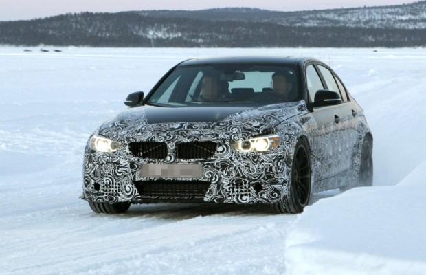 Erwischt: Erlkönig BMW M3 mit TriTurbo