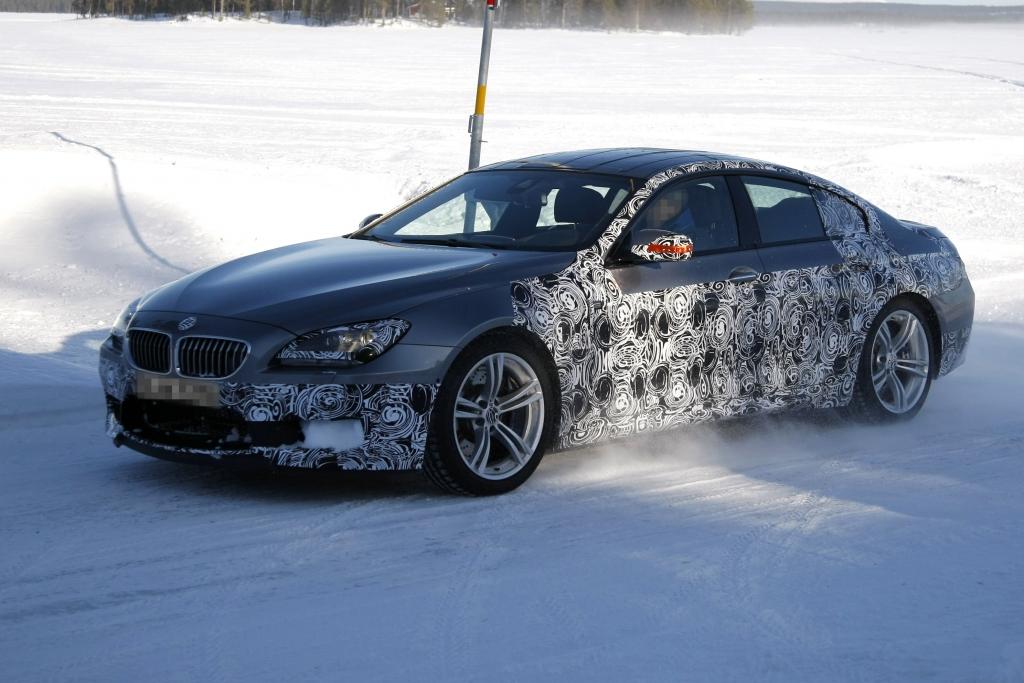 Erwischt: Erlkönig BMW M6 Coupé – Auch ein M6 muss mal tanken