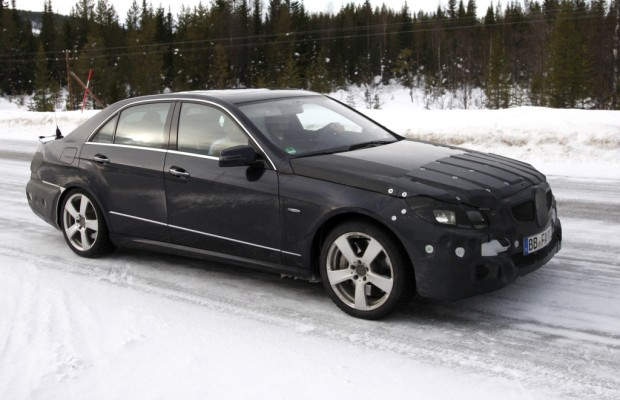 Erwischt: Erlkönig Mercedes E-Klasse – Vierauge ade