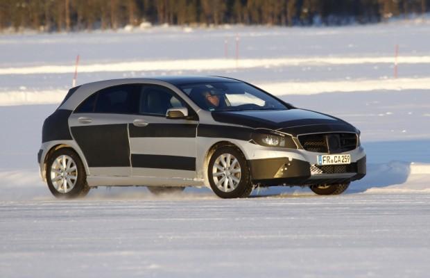 Erwischt: Mercedes-Benz A-Klasse – Jetzt lässt sie die Hüllen fallen