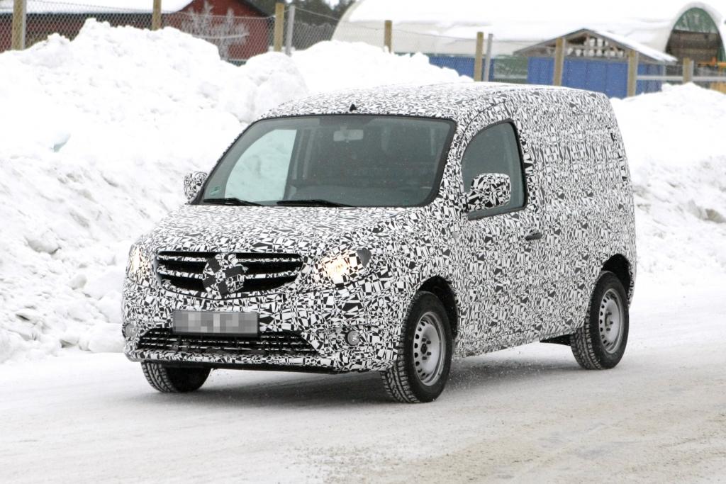 Erwischt: Mercedes-Benz Citan – Erster Kleintransporter mit Stern