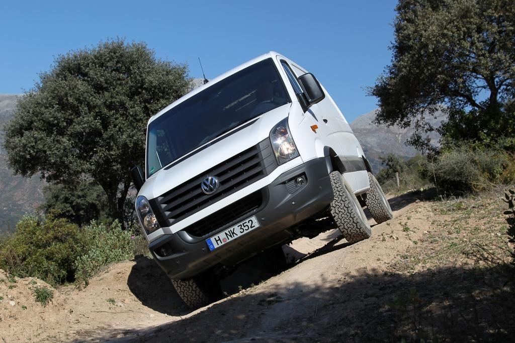 Fahrbericht: VW Crafter 4Motion - Sherpa im Schwereinsatz