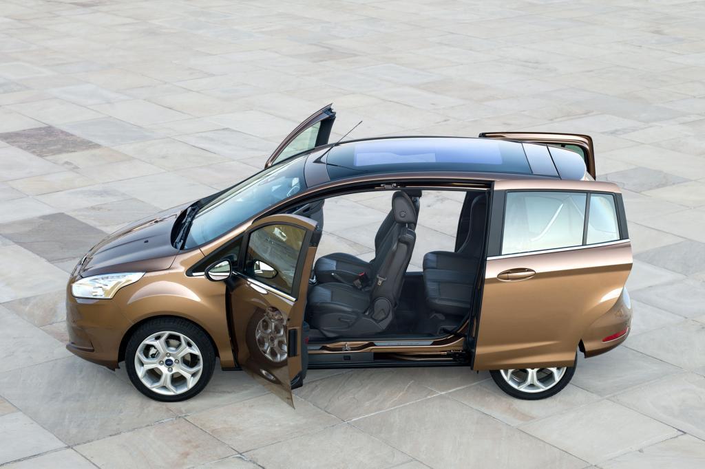 Ford B-Max - Minivan mit Frühwarnsystem