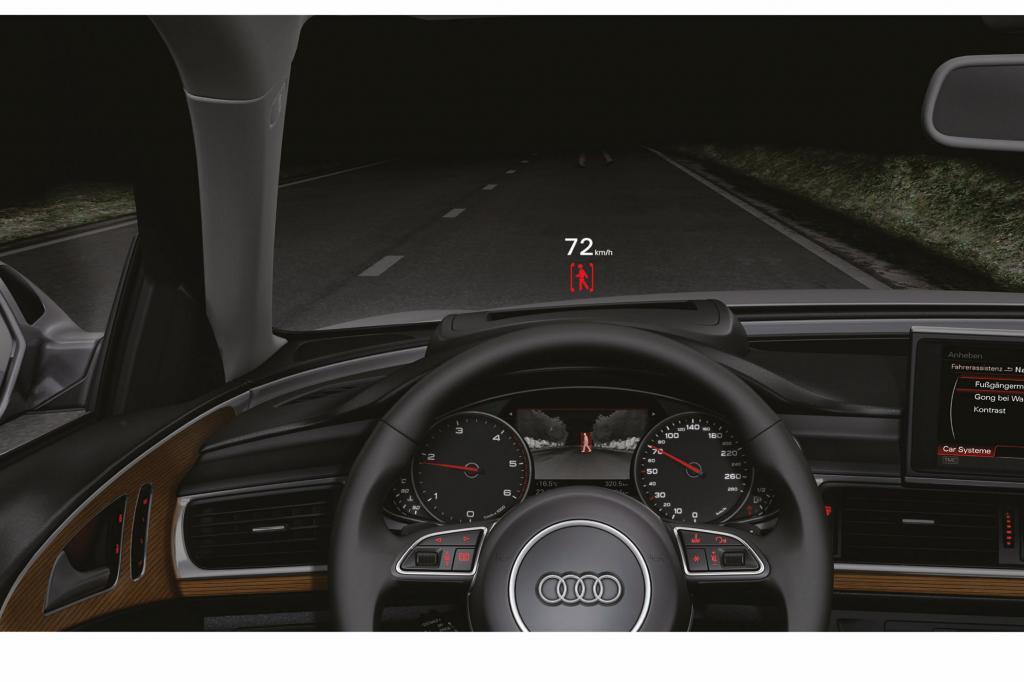 Fußgängererkennung über Videobilder liefern die Nachtsichtsysteme schon heute