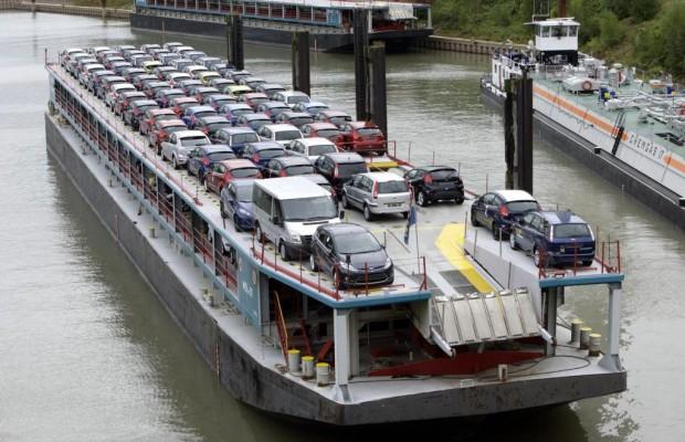 Güterverkehr per Binnenschiff geschrumpft