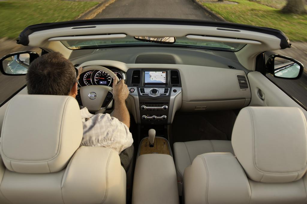 Genau wie bei uns die geschlossene Version, fährt das US-Cabrio mit einem 3,5 Liter großen V6-Motor