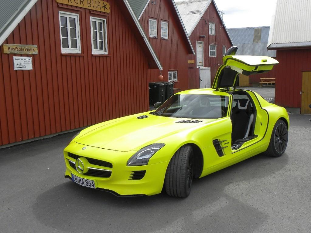 Genf 2012: AMG stellt den Elektro-Antrieb des SLS AMG E-Cell vor