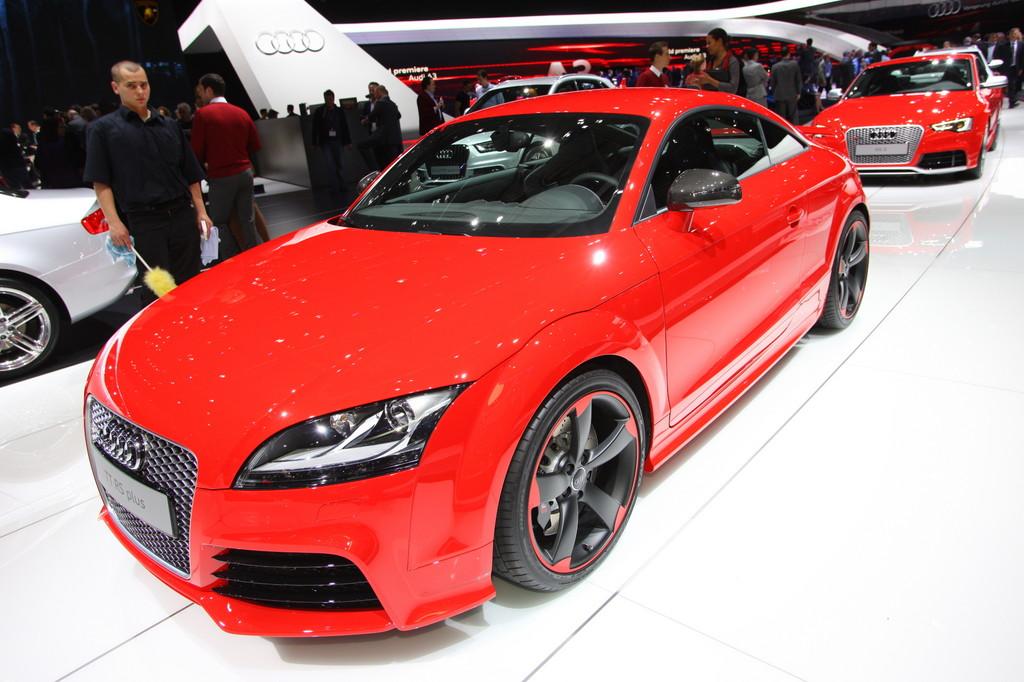 Genf 2012: Audi TT RS Plus wird bei 280 km/h abgeregelt