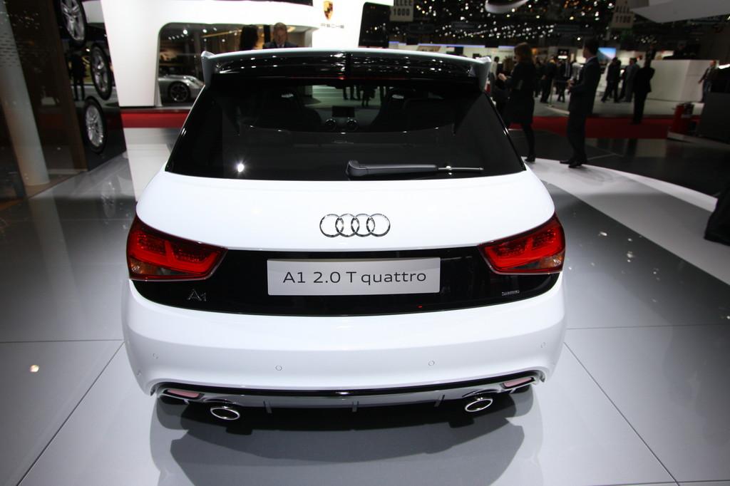 Genf 2012: Audi krönt Baureihe mit dem A1 Quattro