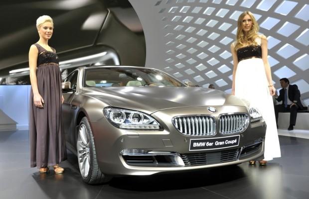 Genf 2012: BMW 6er Gran Coupé hat Weltpremiere