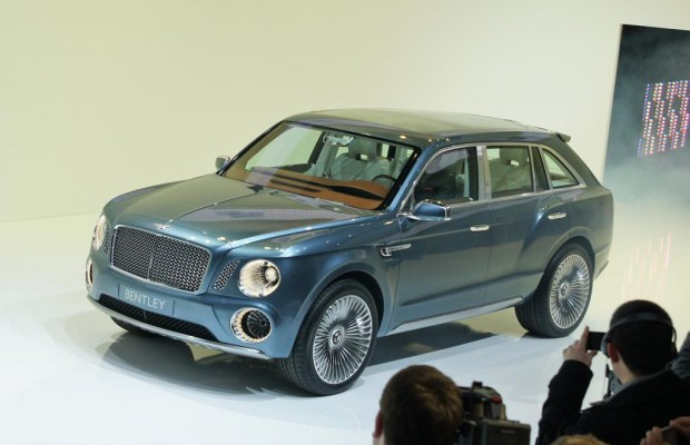 Genf 2012: Bentley EXP 9F - Völlig unbescheiden