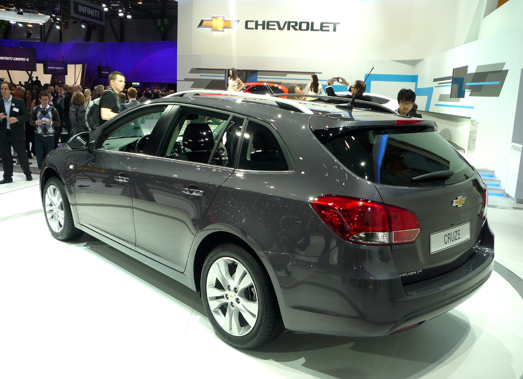 Genf 2012 – Chevrolet Cruze Station Wagon: Nachwuchs im Kombi-Land Deutschland
