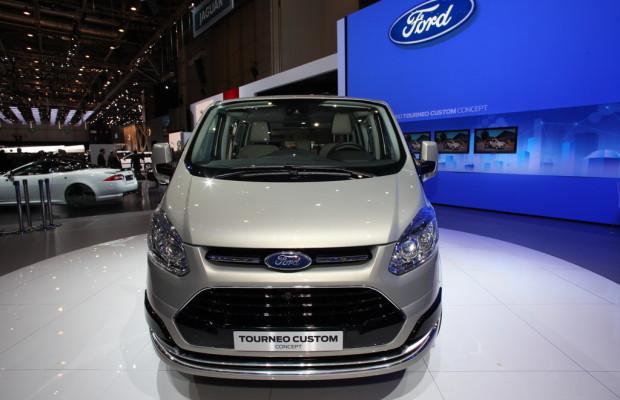 Genf 2012: Ford zeigt die neue Transit-Generation