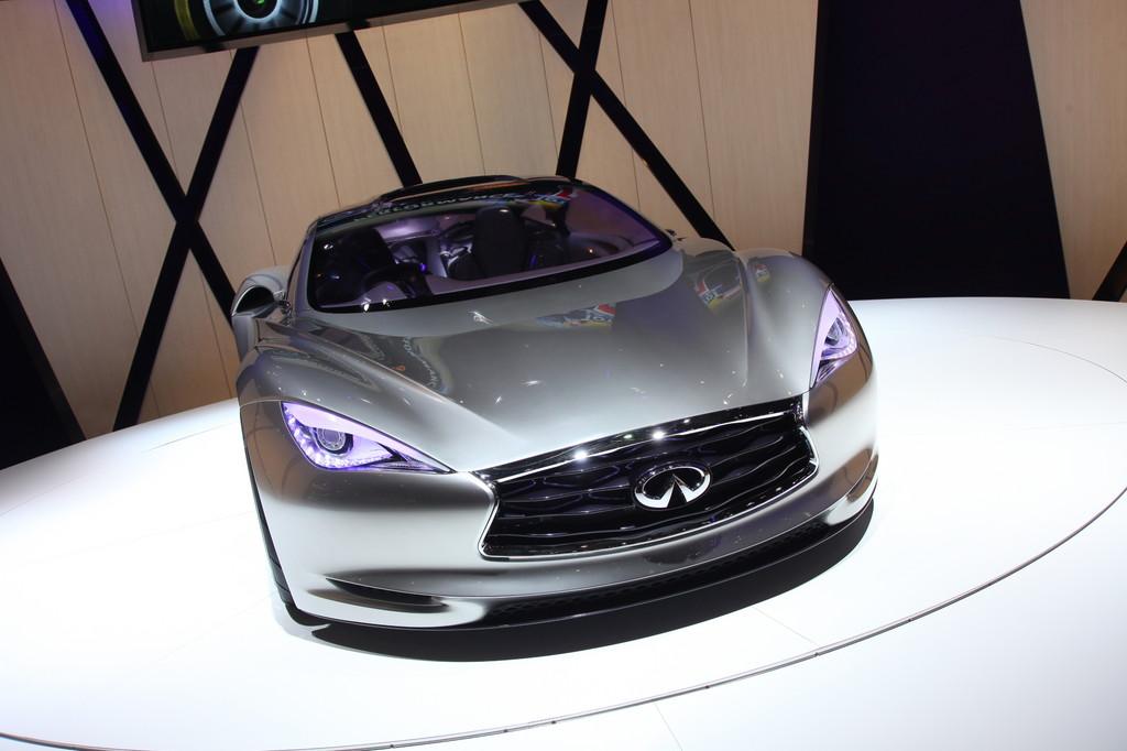 Genf 2012: Infiniti zeigt Sportwagen-Studie Emerg-E