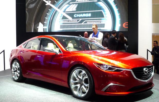 Genf 2012 – Mazda Takeri: Wachablösung in der Mittelklasse