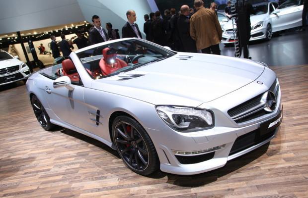 Genf 2012: Mercedes-Benz präsentiert SL 63 AMG