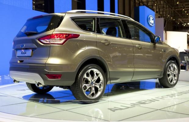 Genf 2012: Neuer Ford Kuga reagiert auf Fußbefehl