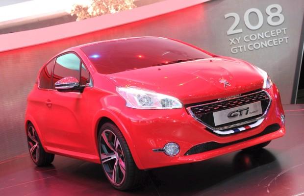 Genf 2012: Peugeot präsentiert den 208