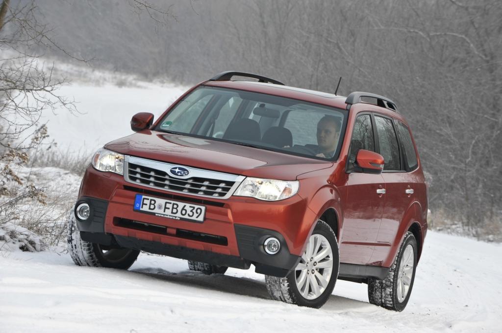 Genf 2012: Subaru feiert 40 Jahre Allrad-Jubiläum