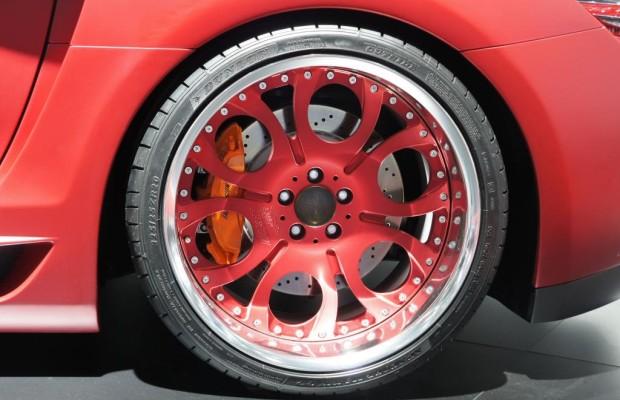 Genfer Autosalon 2012 - Die schönsten Auto-Beine