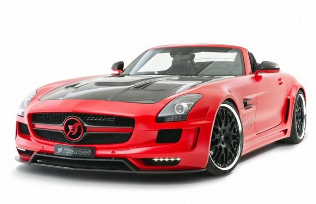 Hamann Mercedes SLS AMG Roadster - Laut, stark, schnell