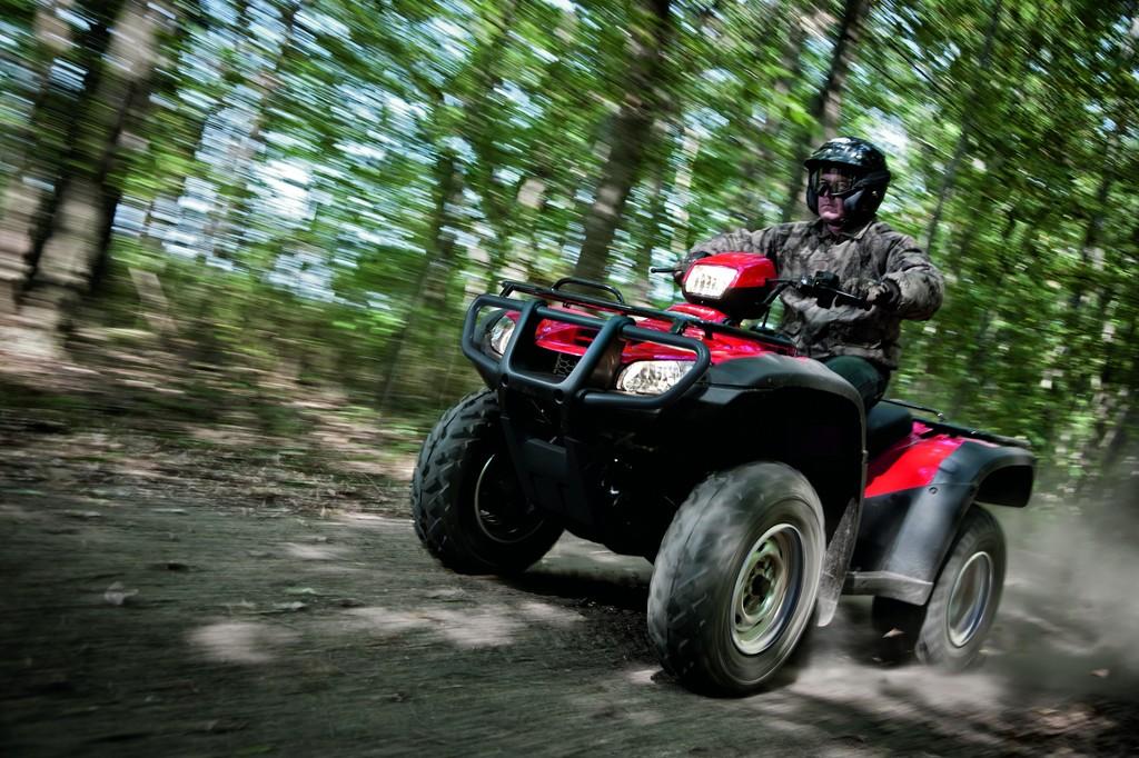 Honda ergänzt ATV-Flotte um Foreman TRX 500 FPA