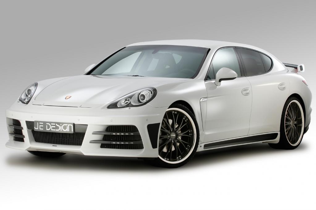 JE Design macht dem Porsche Panamera Beine
