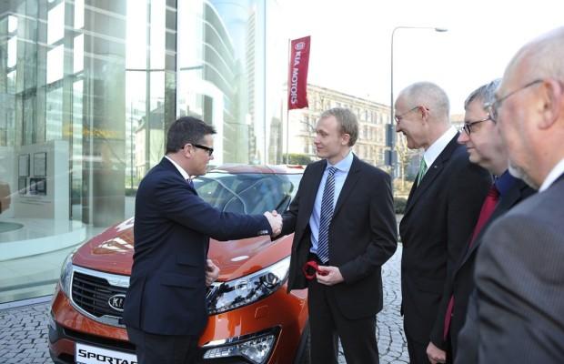 Kia liefert das 500.000ste Flüssiggas-Fahrzeug in Deutschland aus
