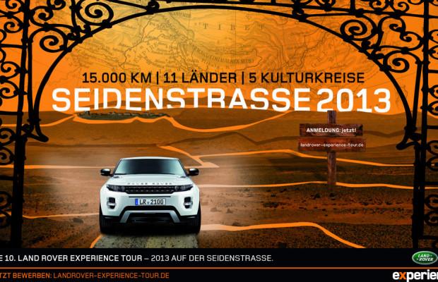 Land Rover nimmt Bewerbungen für Experience Tour entgegen
