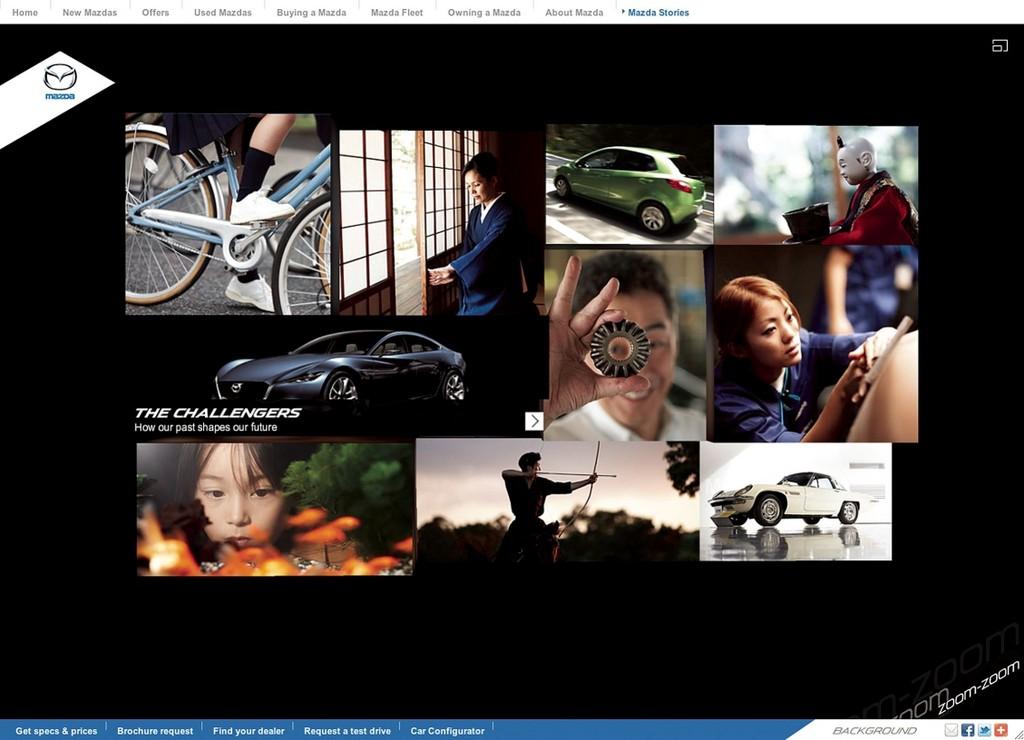 Mazda für Markeninitiative
