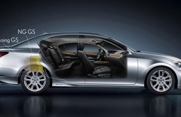 Mehr Komfort für den Lexus GS
