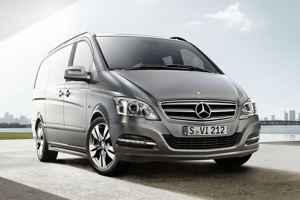 Mehr Komfort und Luxus verspricht Mercedes für das neue Sondermodell Pearl auf Basis des Vans Viano