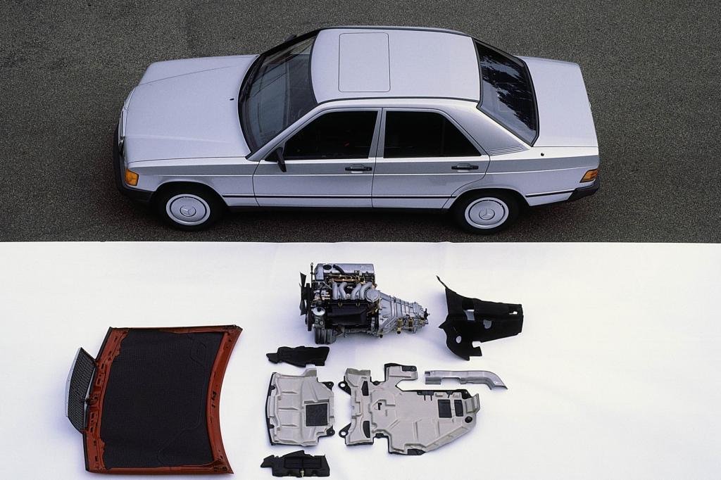 Mercedes 190D ab 1983