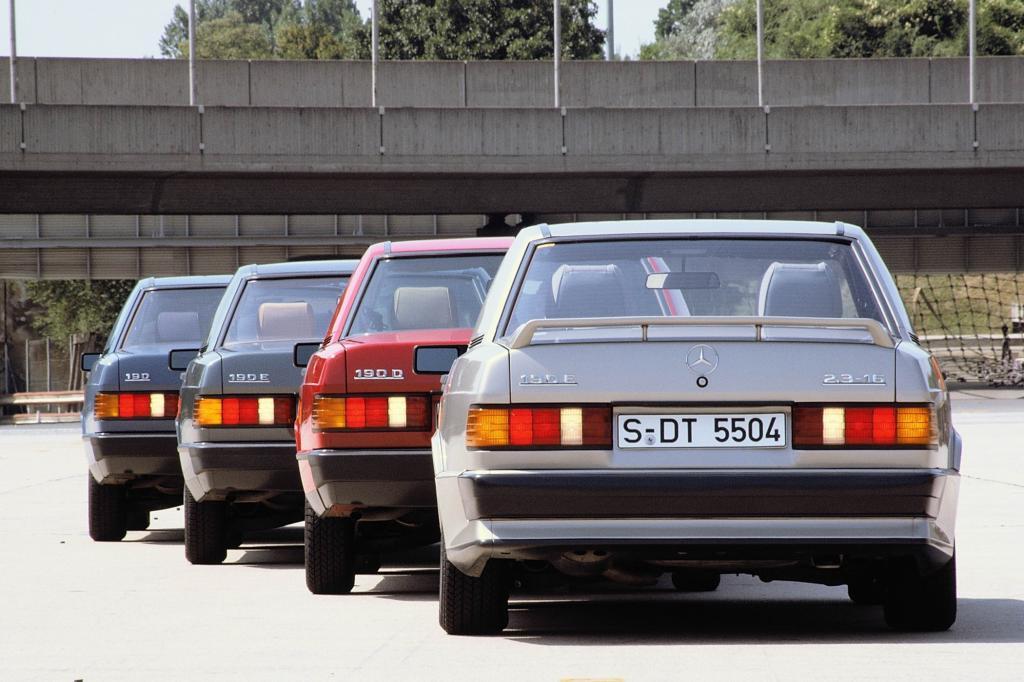 Mercedes 190er-Familie