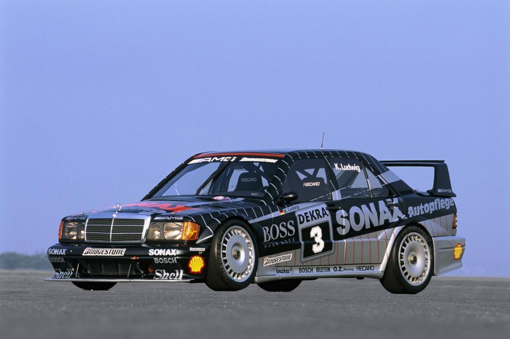 Mercedes AMG 190E 2.5-16 Evolution II DTM mit Klaus Ludwig