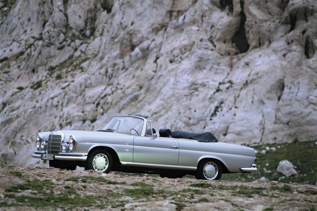 Mercedes-Benz 280 SE 3.5 Cabrio ab 1968