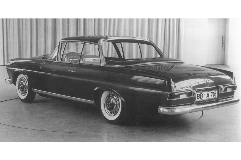 Mercedes-Benz 300 SX Prototype 1962
