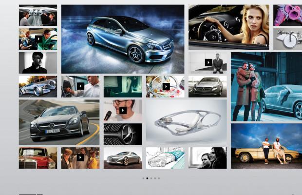 Mercedes-Benz bündelt Online-Aktivitäten