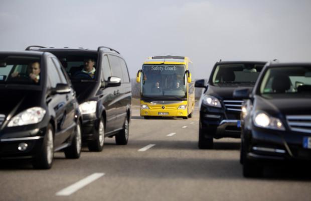 Mercedes-Benz bringt Active Brake Assist 2 im Travego