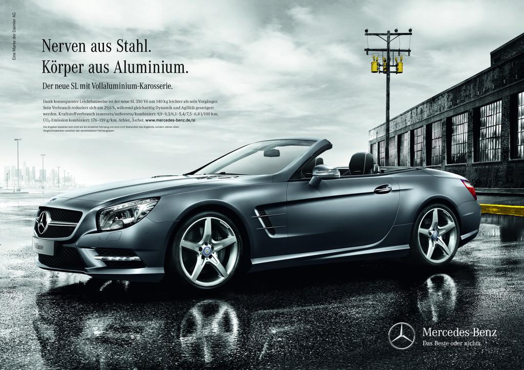 Mercedes-Benz startet Kampagne für den neuen SL Roadster
