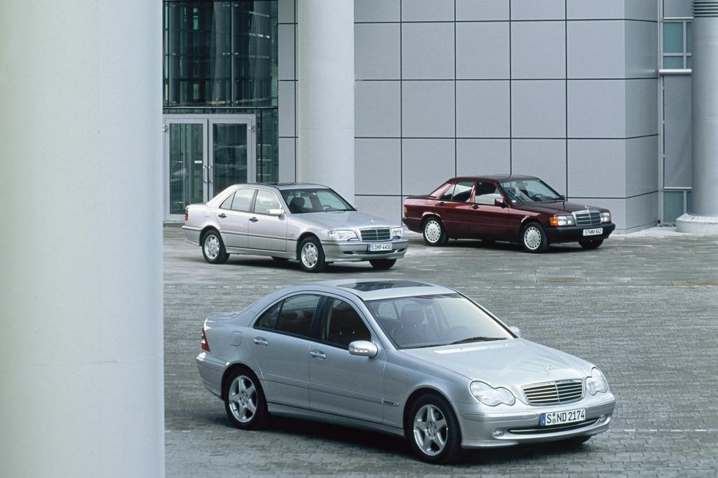 Mercedes-Familie