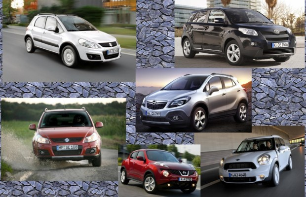 Mini-SUV - Abenteuerautos für die Stadt