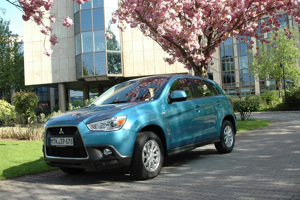 Mitsubishi ASX Spitze bei Crashtests in USA