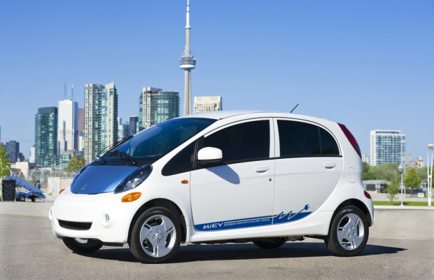 Mitsubishi i-MiEV in Nordamerika ausgezeichnet
