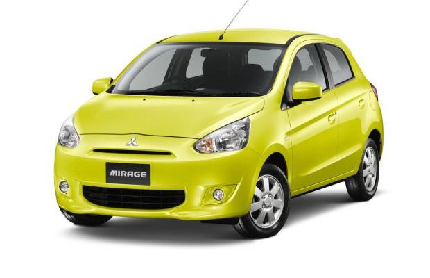 Mitsubishi startet Mirage-Verkauf in Thailand