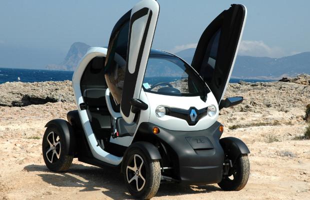 Neuer Renault-Leichtkraft-Stromer Twizy nicht nur für die Außerirdischen
