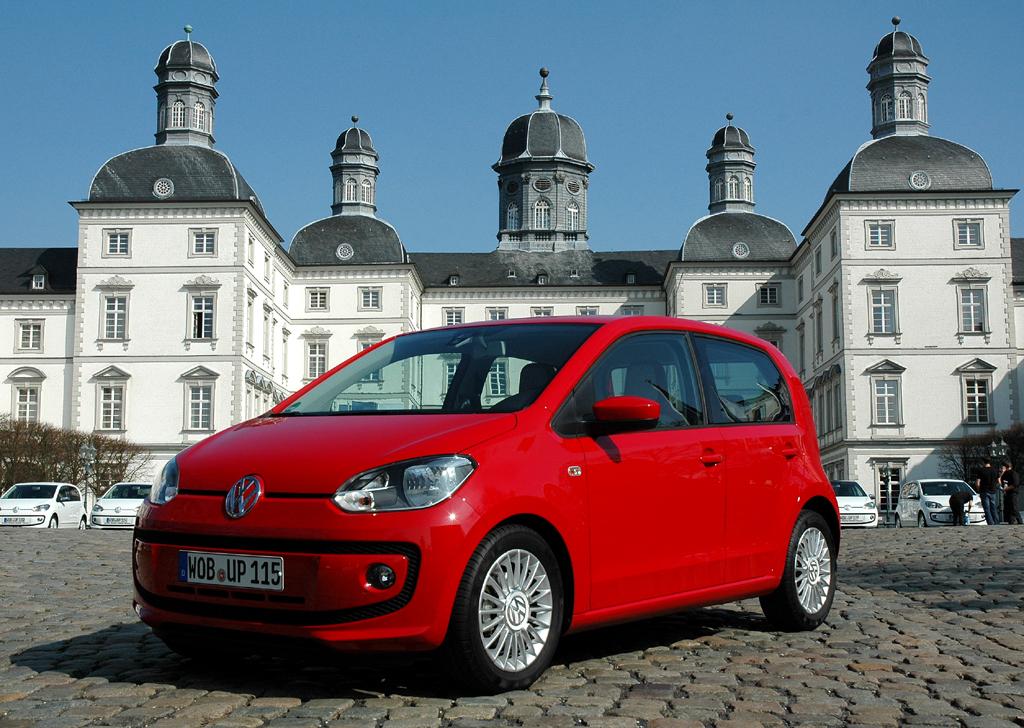 Nicht klein, nur kurz: VW schiebt beim Up viertürige Variante nach