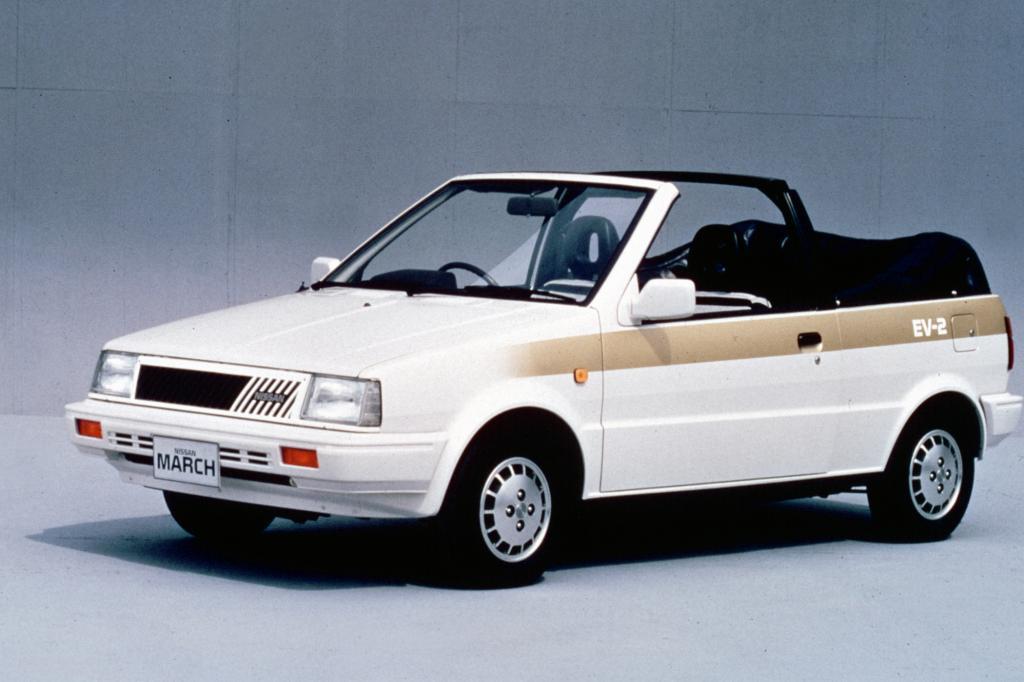 Nissan March Cabriolet EV2 Jahr 1987