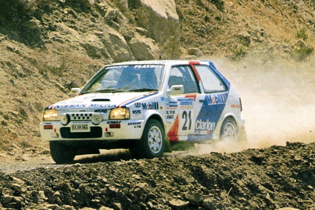 Nissan Micra Super Turbo Rallye WM,1990